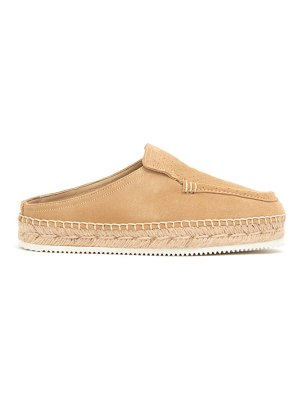 Suicoke ronin suede backless loafers