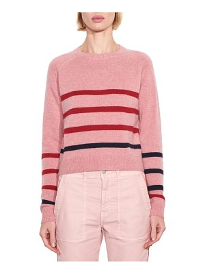 Sundry stripe wool & cashmere sweater