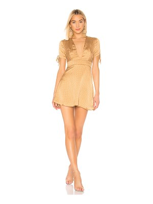 superdown ava tie sleeve dress