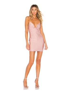 superdown carley twist front dress