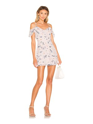 superdown celeste off shoulder dress