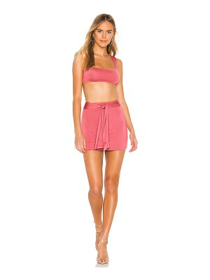 superdown charlene tie skirt set