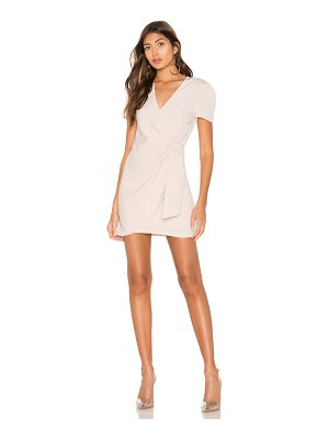 superdown Dione Buckle Wrap Mini Dress