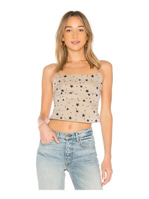 superdown dixie backless crop top