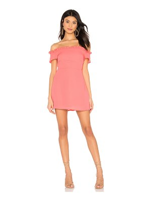 superdown dulipa off shoulder dress
