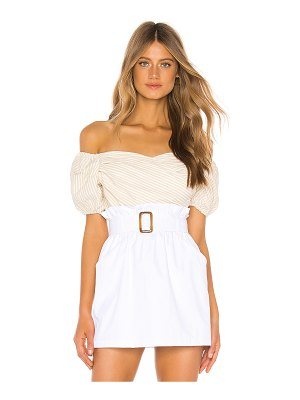 superdown gabriella puff sleeve top