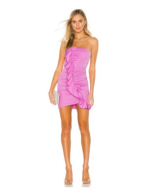 superdown indy ruffle front dress