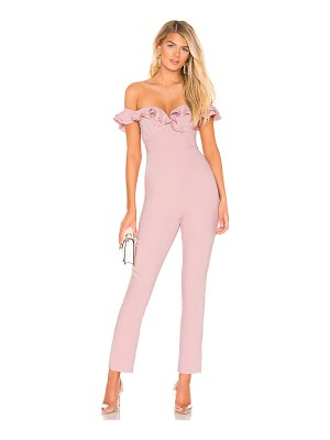 superdown Jada Off Shoulder Jumpsuit