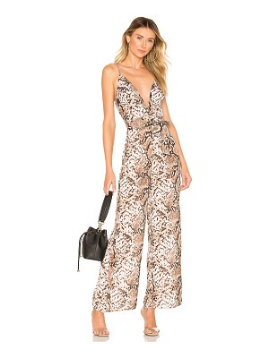 superdown Jasper Deep V Jumpsuit