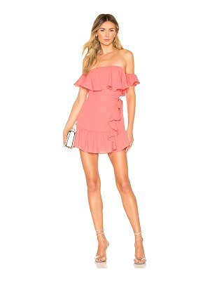 superdown Jolene Ruffle Wrap Dress