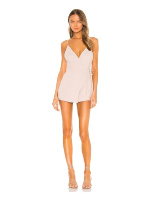 superdown jordin wrap romper