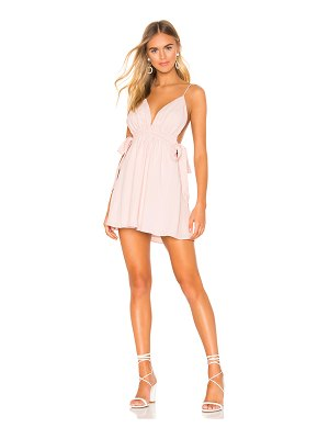 superdown laney ruched mini dress