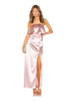 superdown Lyna Strapless Maxi Dress