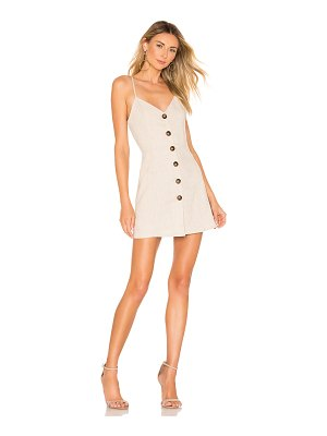 superdown mallory button up dress