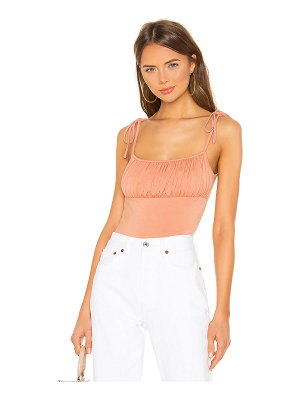 superdown Marni Ruched Tie Cami