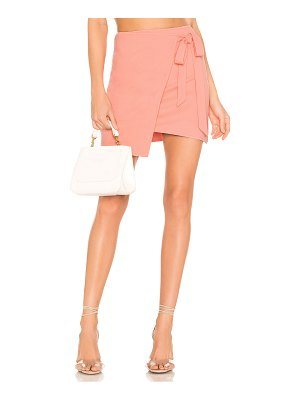 superdown monica wrap tie skirt