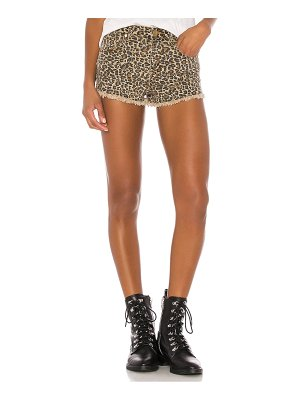 superdown priya cut off shorts