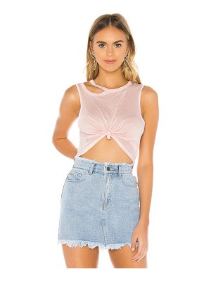 superdown reba cutout tee shirt