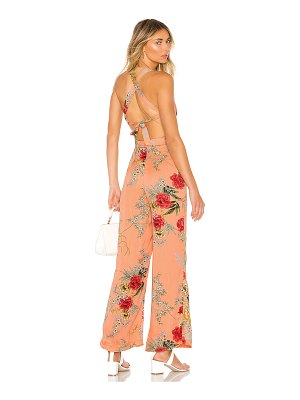 superdown sara open back jumpsuit