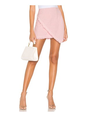 superdown savana frayed hem skirt