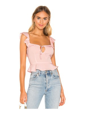 superdown Soraya Ruffle Tie Top