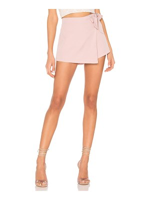 superdown trina wrap skort