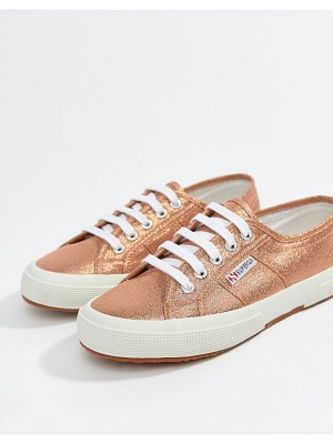 Superga 2750 lame metallic sneakers