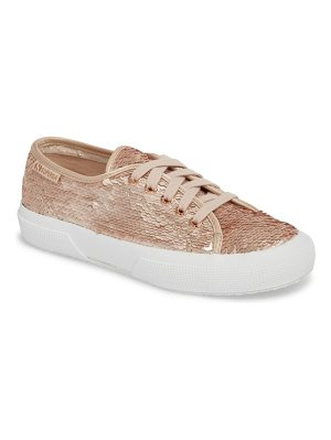 Superga 2750 pairidescent low top sneaker