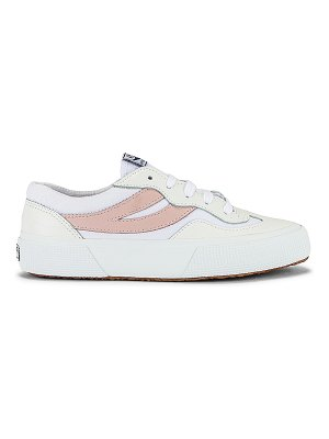 Superga 2941 revolley leather sneaker