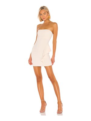 Susana Monaco 16 strapless dress with ruffle detail