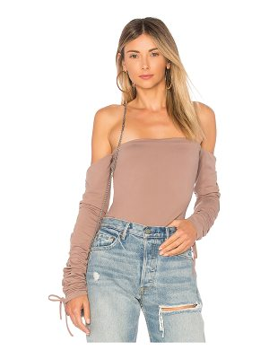 Susana Monaco Ruched Off Shoulder Top