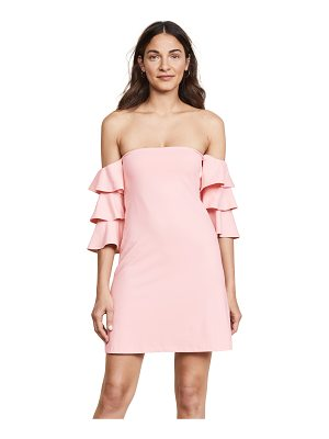 Susana Monaco off the shoulder dress