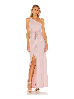 Susana Monaco twisted shoulder gown