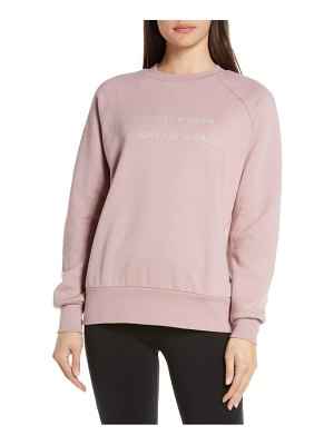 SWEATY BETTY superhero sweatshirt