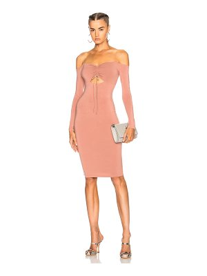 T by Alexander Wang Cut Out Midi Dress