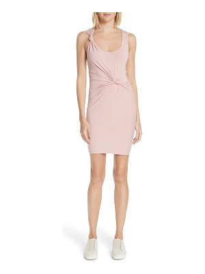 T by Alexander Wang knotted tank dress