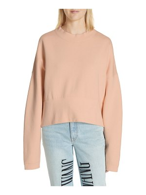 T by Alexander Wang oversize french terry sweatshirt