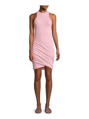 T by Alexander Wang Twisted-Yarn Muscle Tank Dress