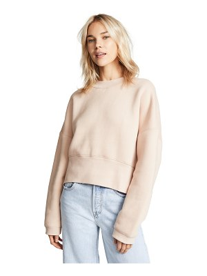 T by Alexander Wang wide neck sweatshirt