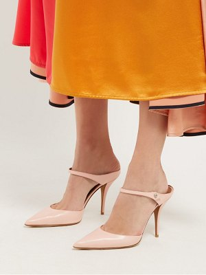 Tabitha Simmons allie point toe leather mules