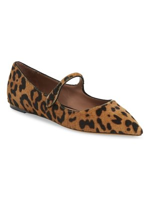 Tabitha Simmons hermione genuine calf hair mary jane flat