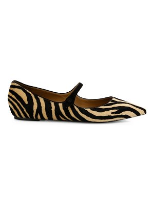 Tabitha Simmons hermione embossed python flats
