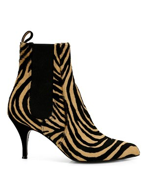 Tabitha Simmons irvin zebra-print calf hair & suede ankle boots