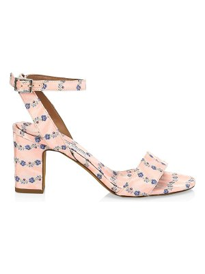 Tabitha Simmons leticia floral ankle-strap sandals
