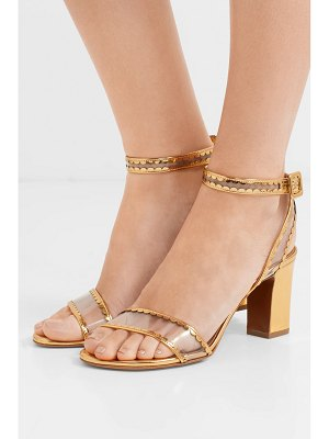 Tabitha Simmons leticia patent-leather and pvc sandals