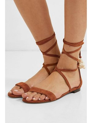 Tabitha Simmons nellie embellished suede sandals