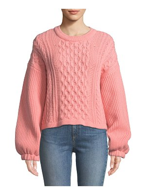 Tabula Rasa Nebusa Cable-Knit Wool Sweater