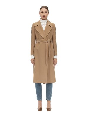 TAGLIATORE 0205 Molly belted cashmere & wool coat