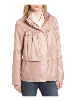 TAHARI April Tiered Ruffle Anorak Jacket