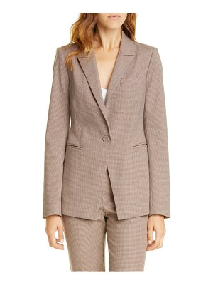 TAILORED BY REBECCA TAYLOR houndstooth blazer